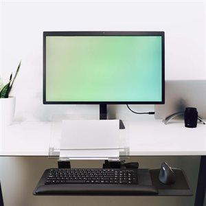 Keyboard Tray & Copy holder