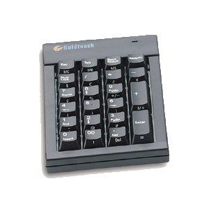 Pavé Numérique Goldtouch USB noir 0077