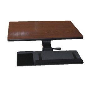 Keyboard tray Kit Left Hand Ideal rail 21''